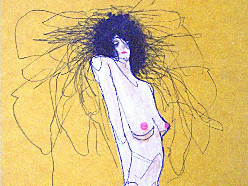 Dibujo de Enric Huguet Arias