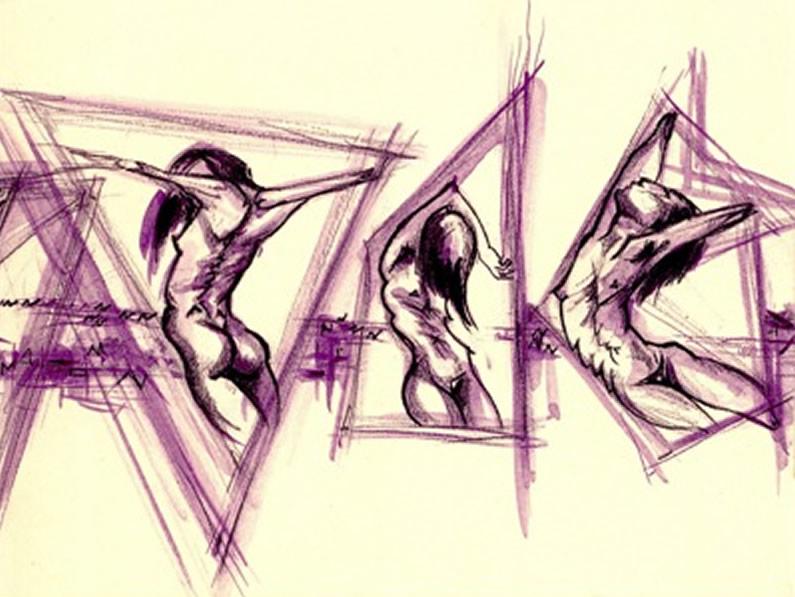 Dibuix portada d'Irene Gracia